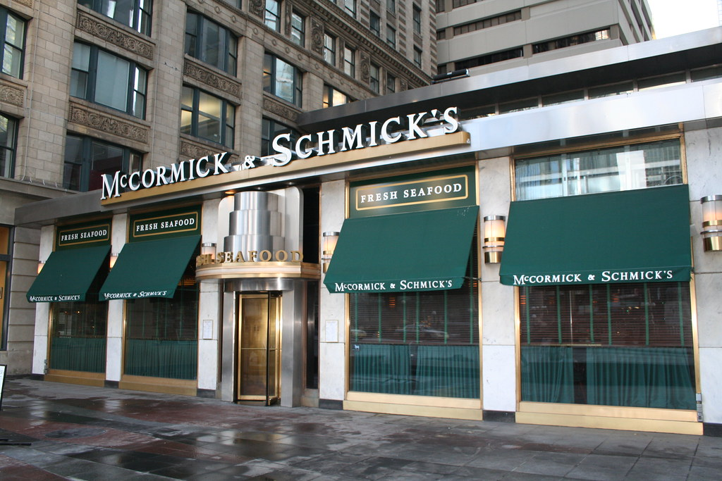Mccormick and Schmick's Veterans day Fresh Seafood 2020