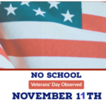 Is there school on Veterans Day 2020 11 November