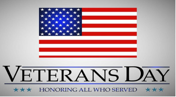 Veterans Day 2020 Closed Schools