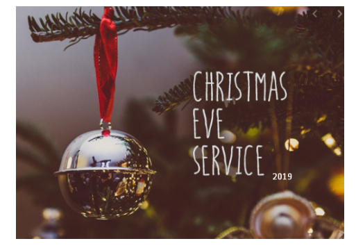 Christmas eve service images 2019